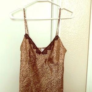 Leopard Night Gown